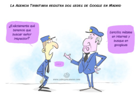 Hacienda registra las sedes de Google en Madrid